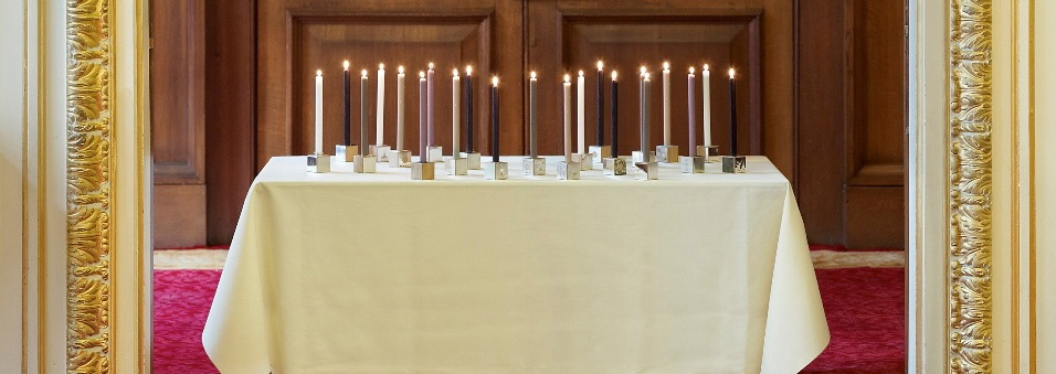 """<a href=""""/jewellery/candleholders-lit-candles-photo-simon-b-armitt"""">Candleholders with Lit Candles   Photo : Simon B Armitt</a>"""